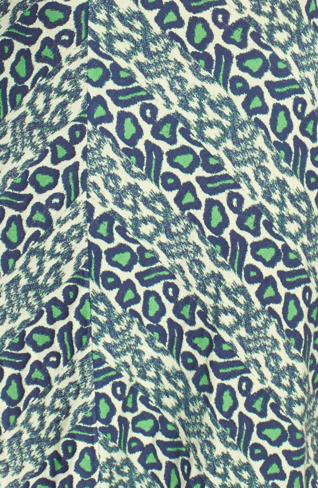Alternate Image 4  - Plenty by Tracy Reese 'Brooke' Print Knotted Jersey Sheath Dress