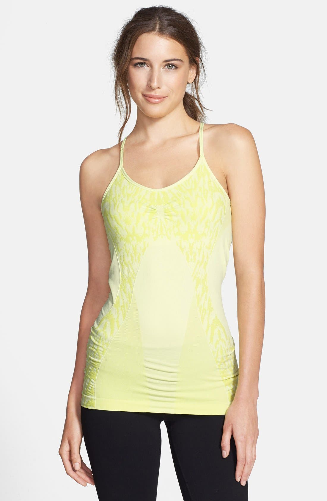 Alternate Image 1 Selected - Zella 'Simply Strappy' Seamless Tank