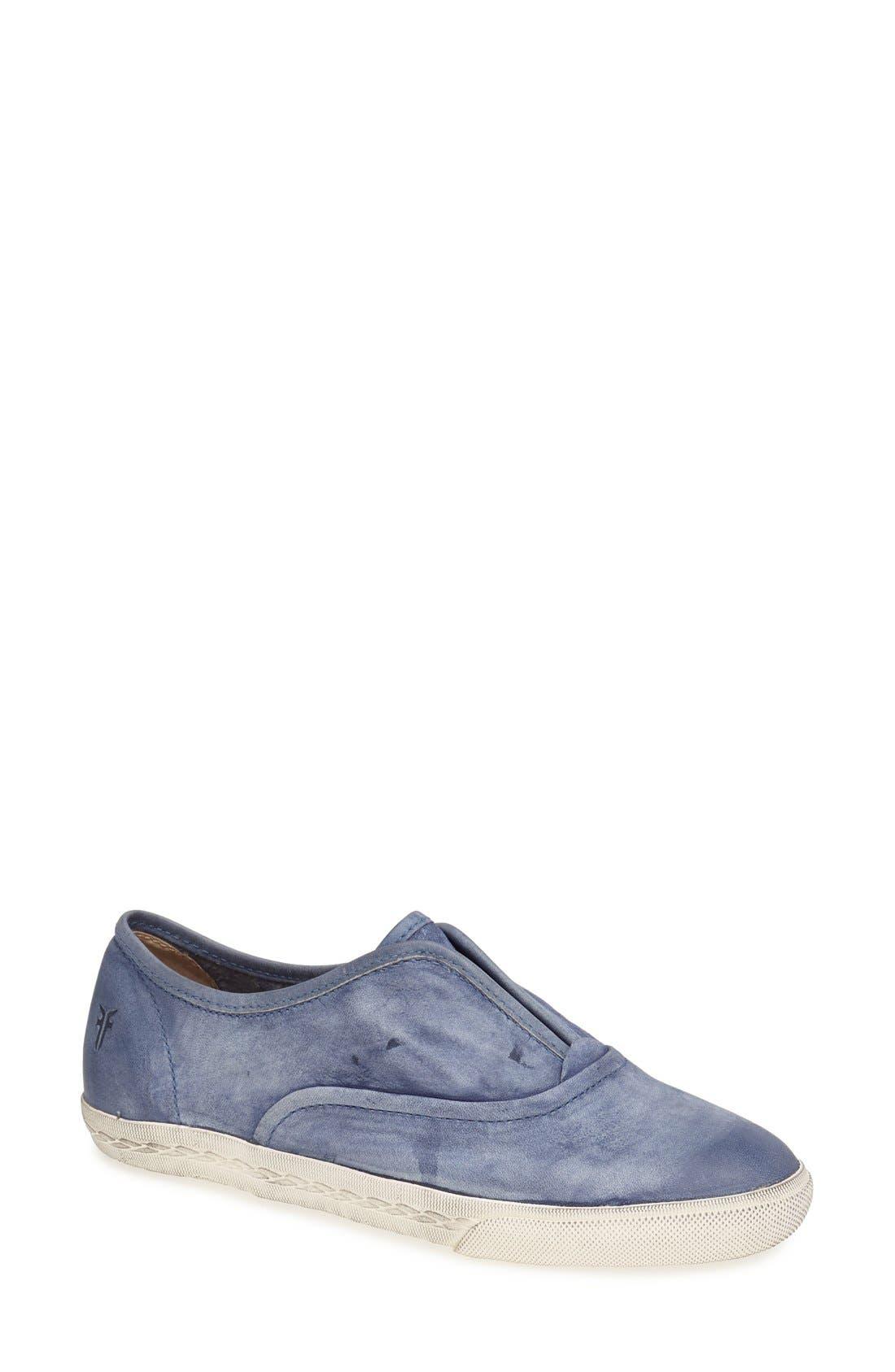 Main Image - Frye 'Mindy' Slip-On Leather Sneaker (Women)