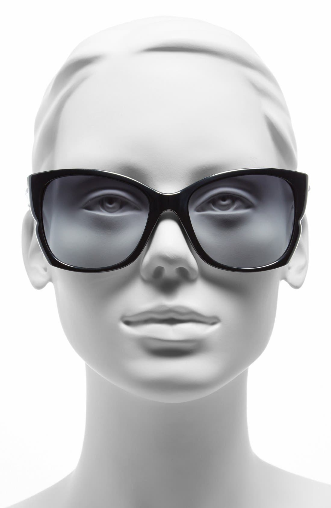 Alternate Image 2  - BCBGMAXAZRIA 56mm Butterfly Sunglasses
