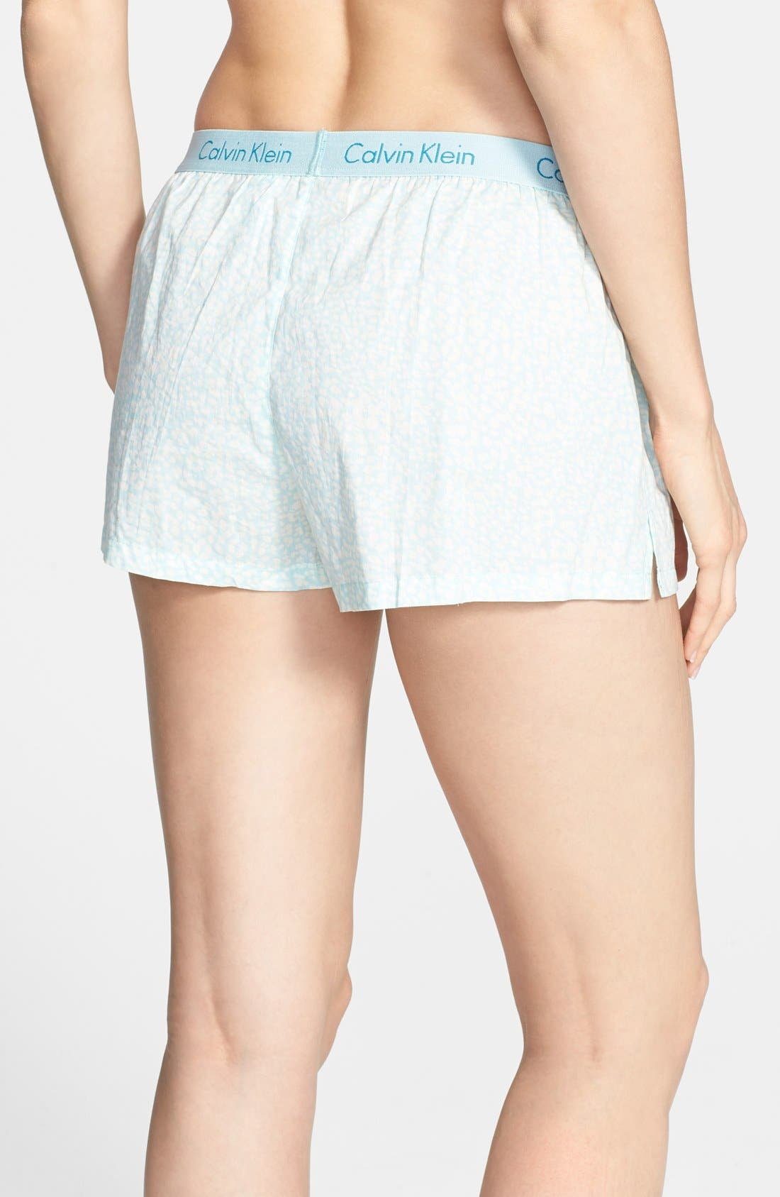 Alternate Image 2  - Calvin Klein 'Cabachon Floral' Boxer Shorts