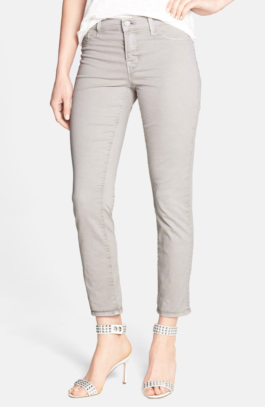 Alternate Image 1 Selected - J Brand Crop Twill Pants