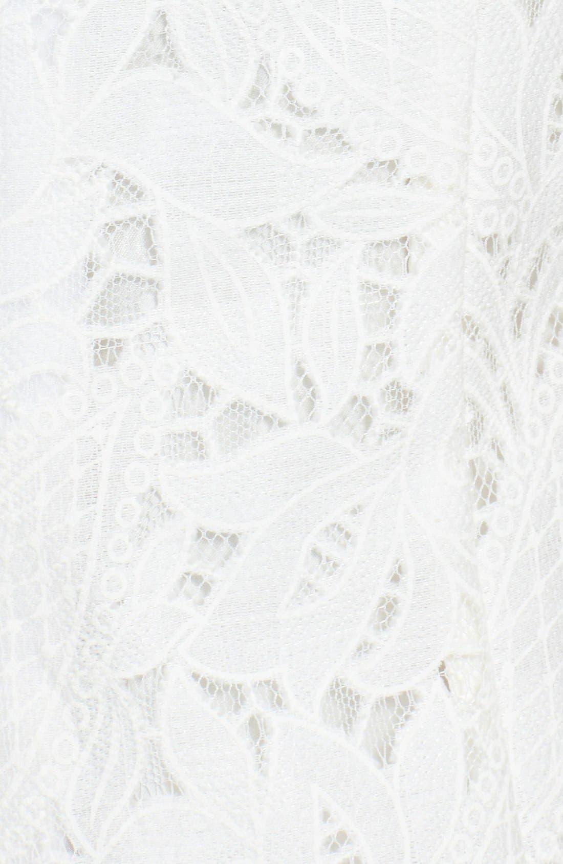 Alternate Image 5  - Tahari Lace Dress & Jacket