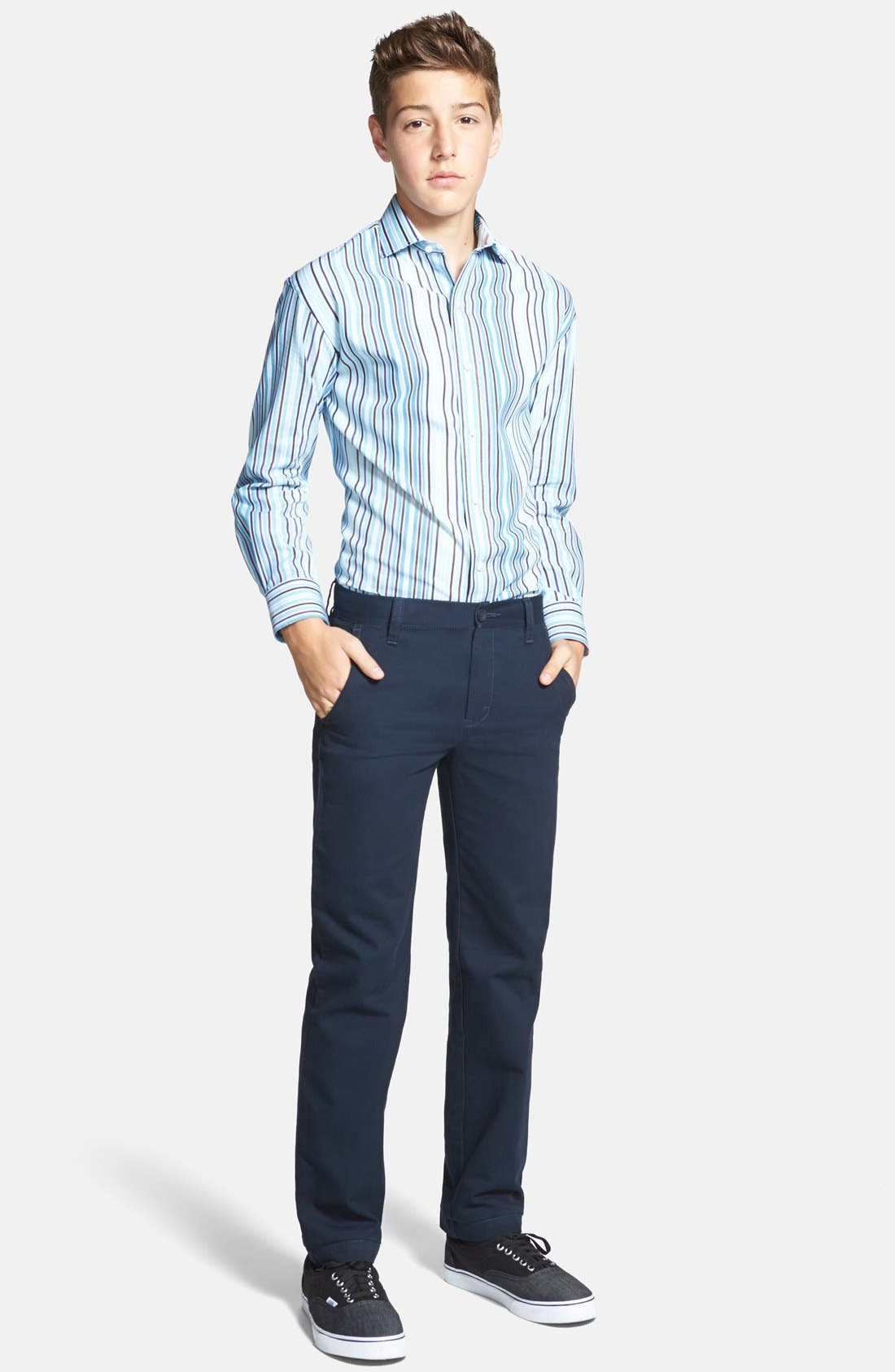 Alternate Image 2  - Nordstrom 'Edward' Chinos (Little Boys & Big Boys)