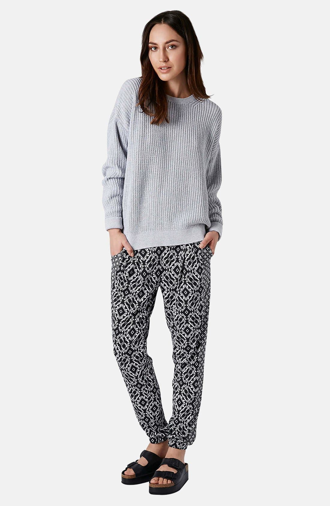 Alternate Image 5  - Topshop Ribbed Cotton Sweater