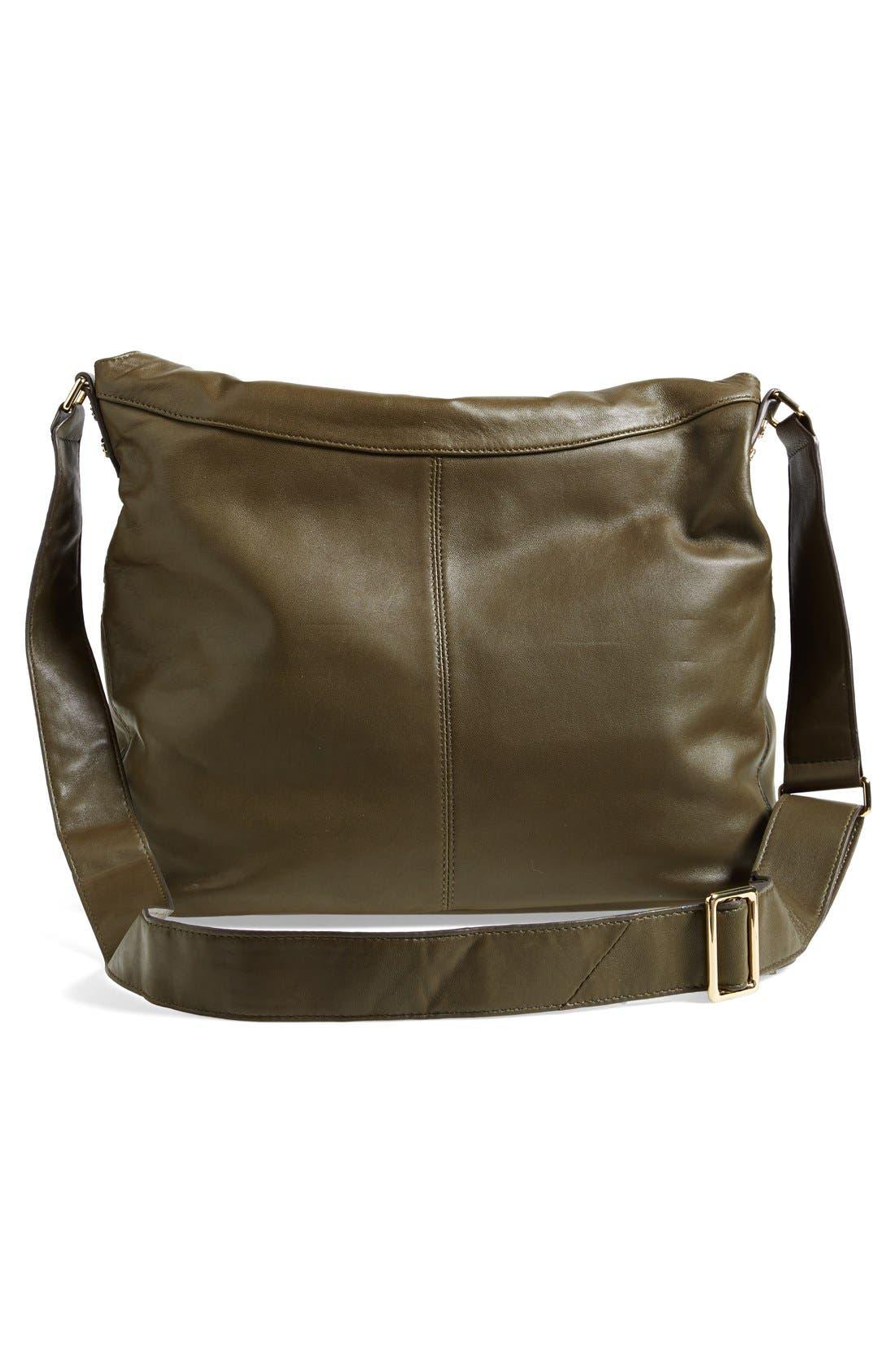 Alternate Image 4  - Elizabeth and James 'James' Convertible Leather Hobo