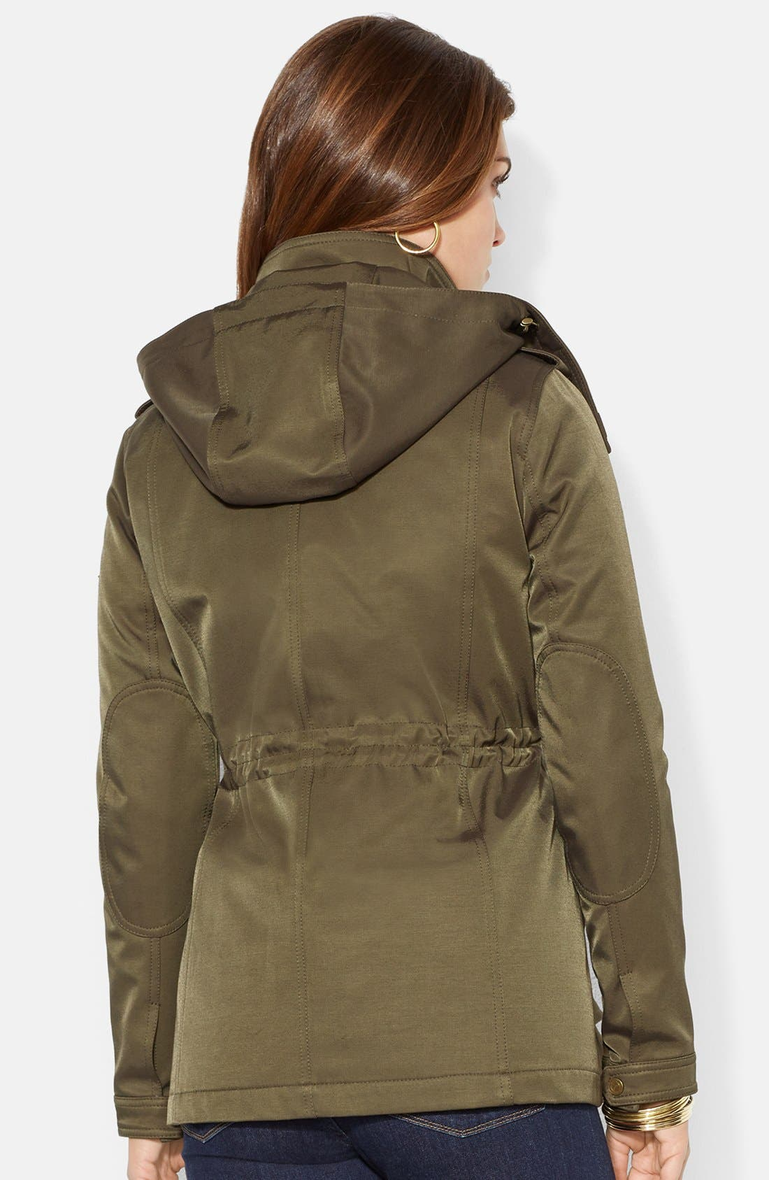 Alternate Image 2  - Lauren Ralph Lauren Two-in-One Anorak with Removable Quilted Vest