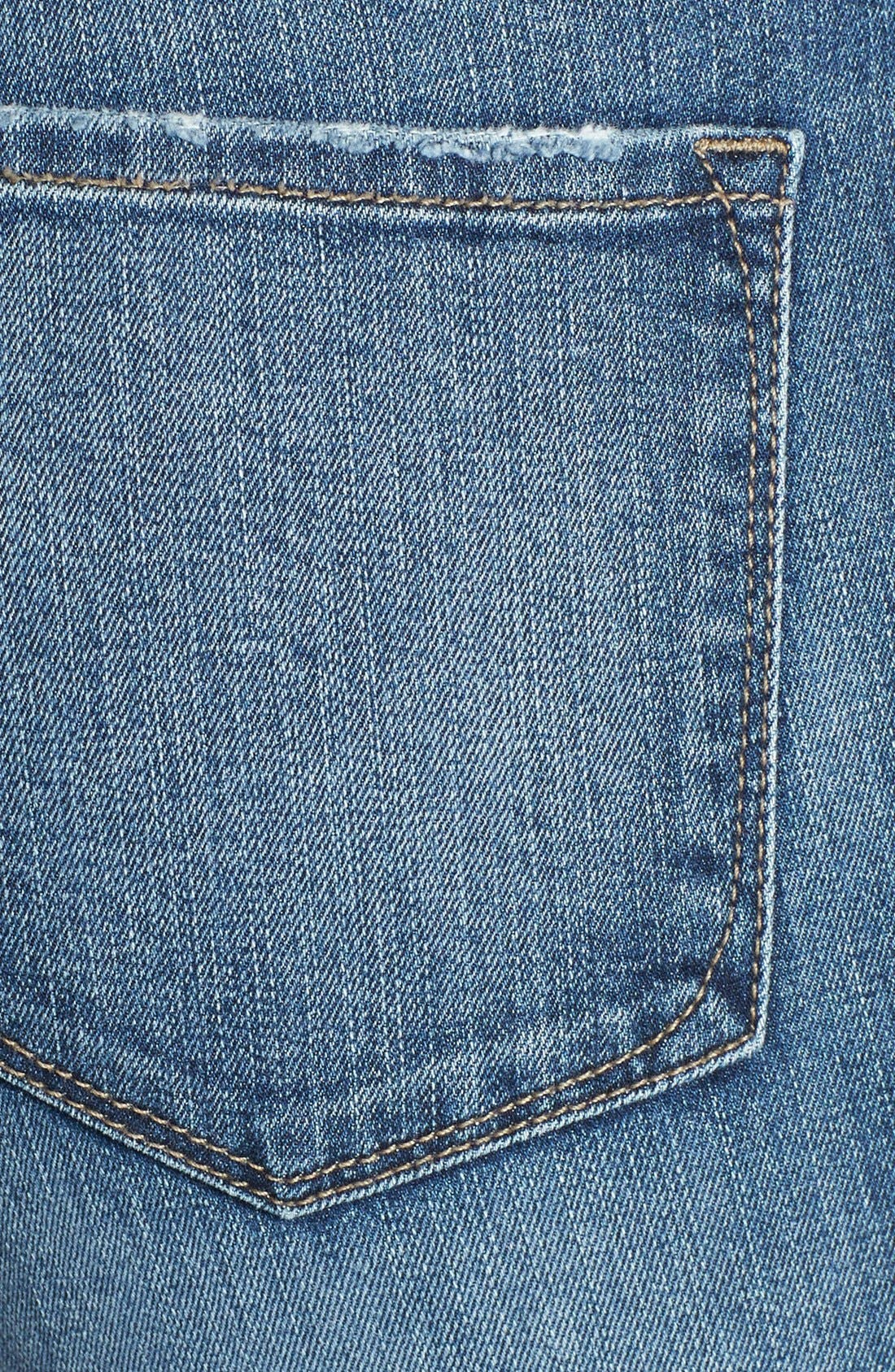 Alternate Image 3  - NYDJ 'Leann' Stretch Boyfriend Jeans (Durham)