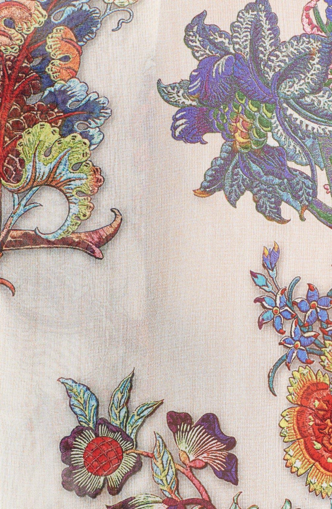 Alternate Image 3  - Just Cavalli Floral Print Silk Blouse