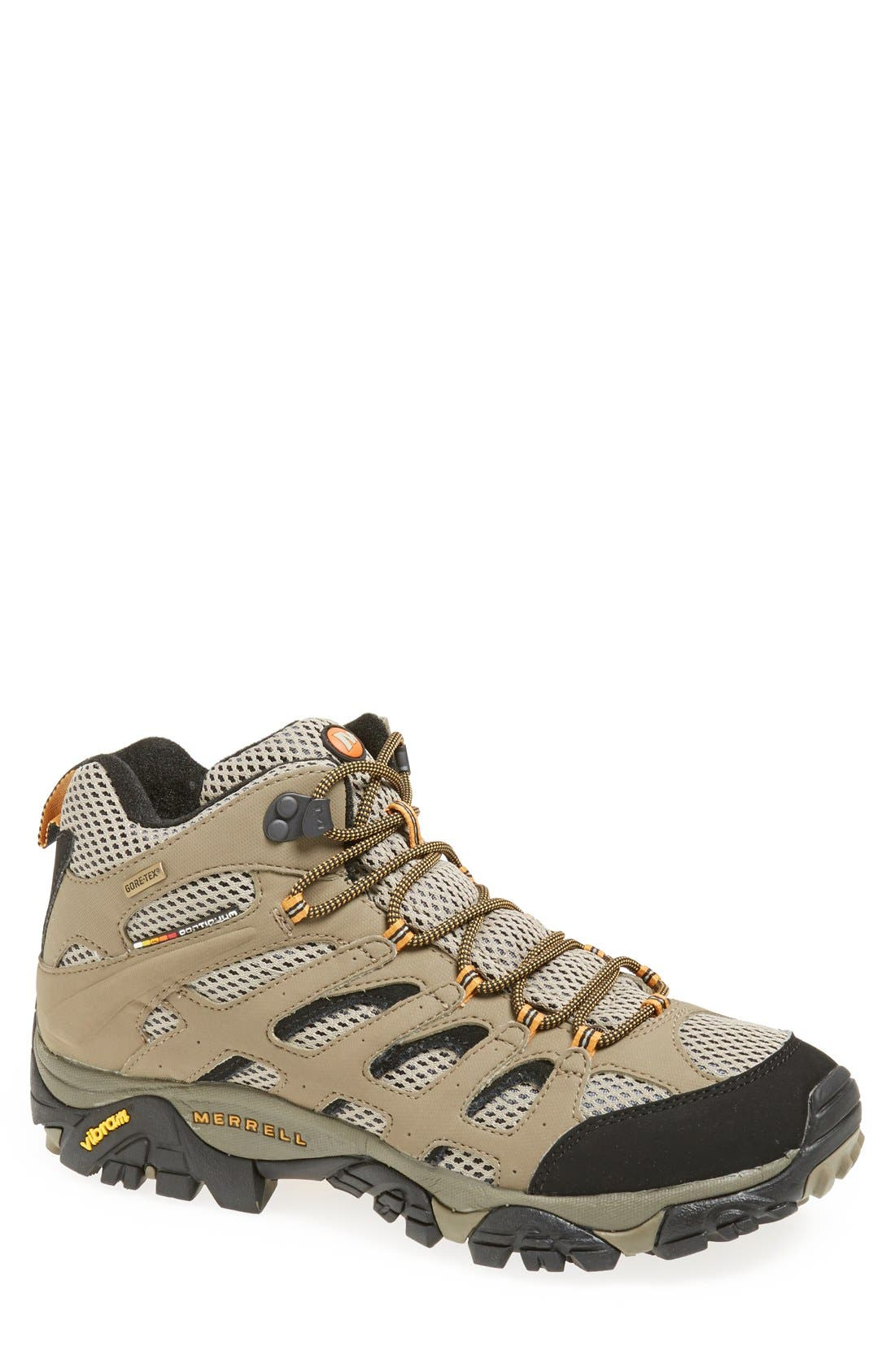 Alternate Image 1 Selected - Merrell 'Moab Mid Gore-Tex® XCR' Hiking Boot (Men) (Online Only)