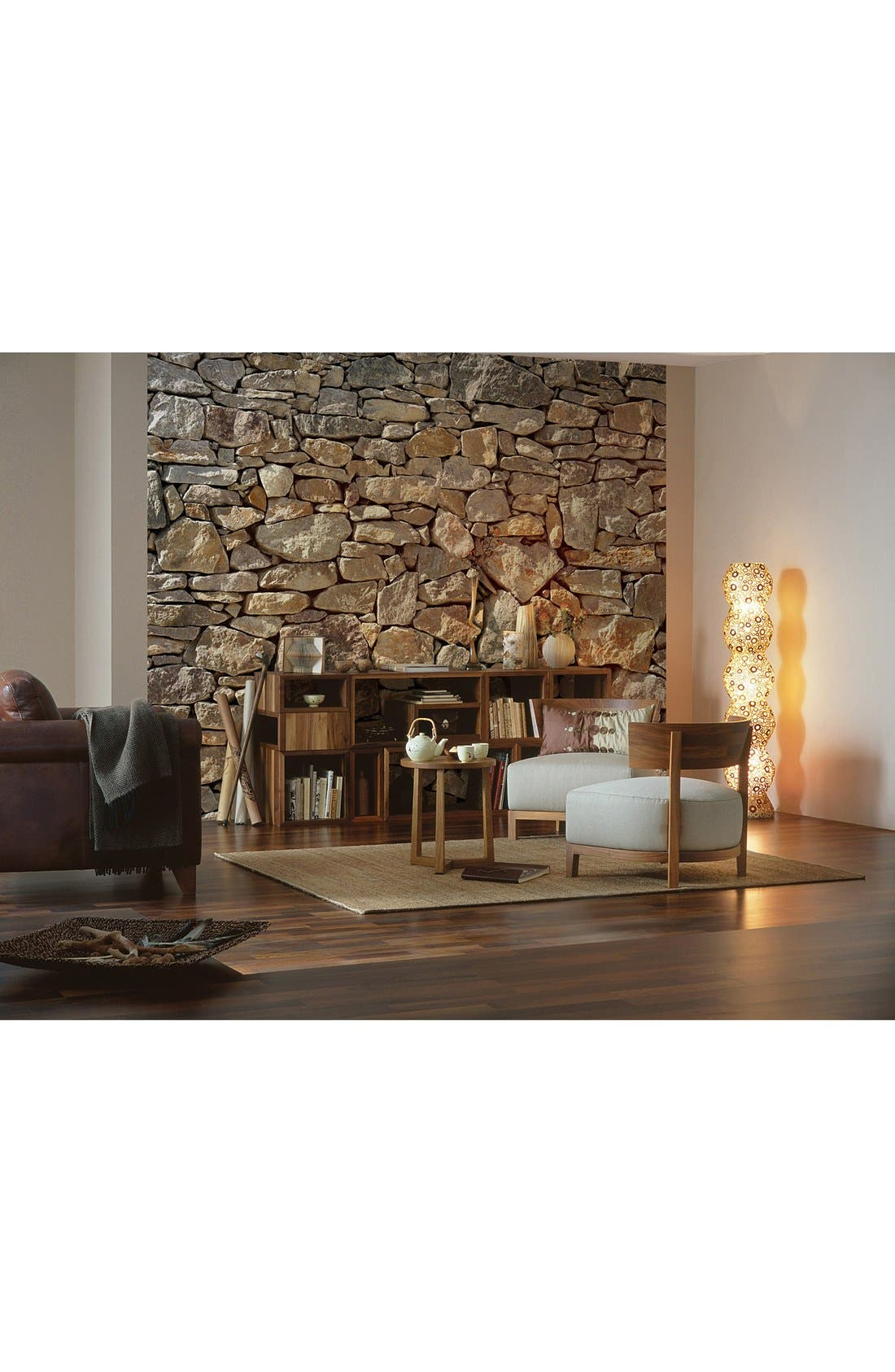 Alternate Image 2  - Wallpops Stone Wall Mural (8-Panel)
