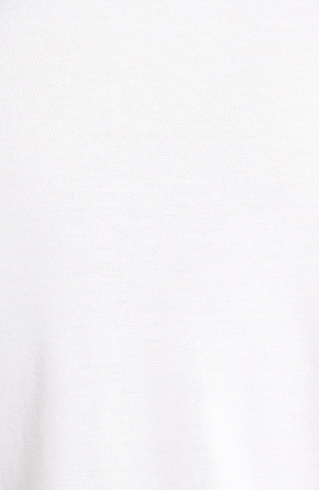 Alternate Image 3  - Lacoste 'White Croc' Regular Fit Piqué Polo