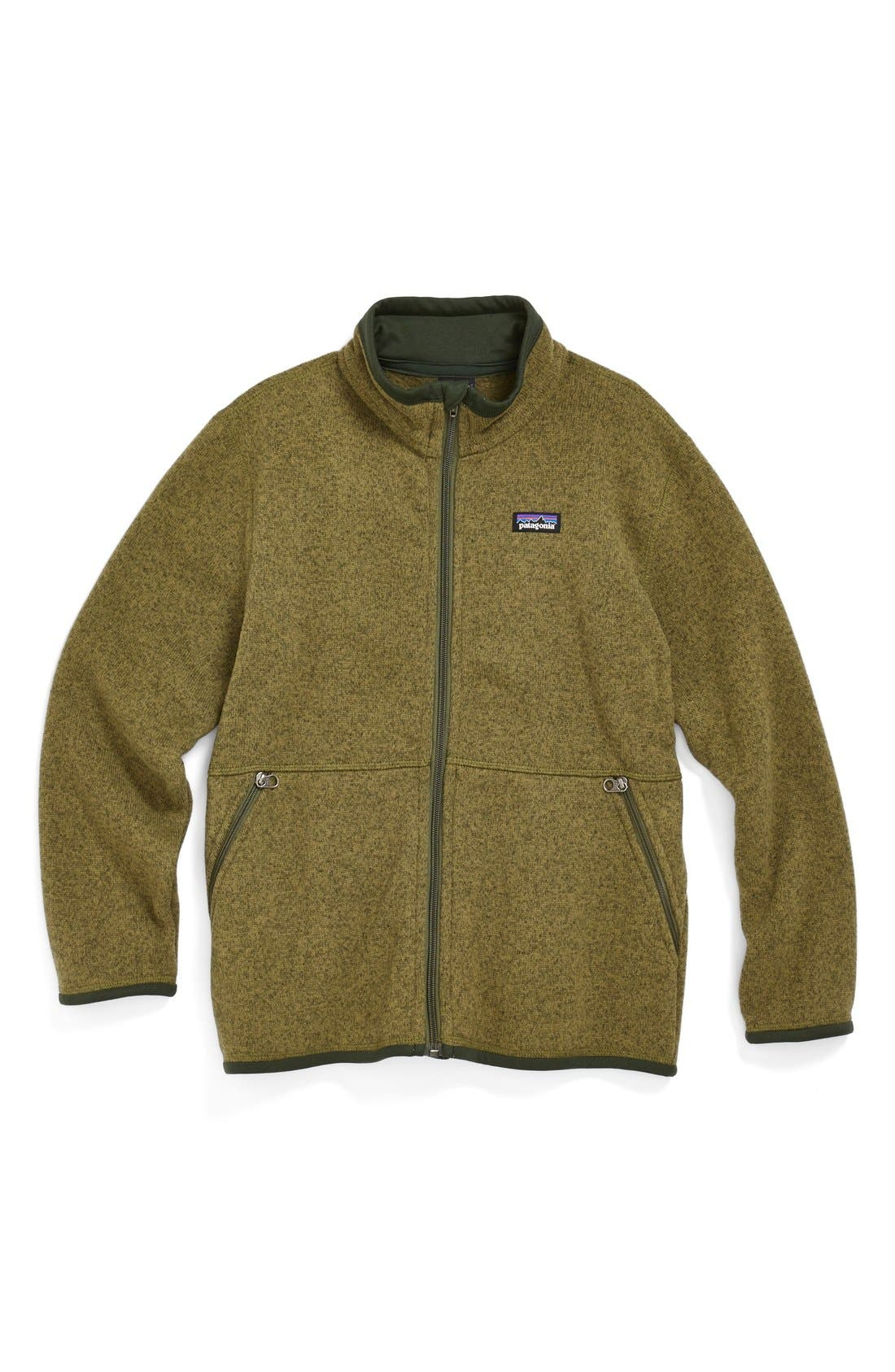Alternate Image 1 Selected - Patagonia 'Better Sweater®' Jacket (Little Boys & Big Boys)