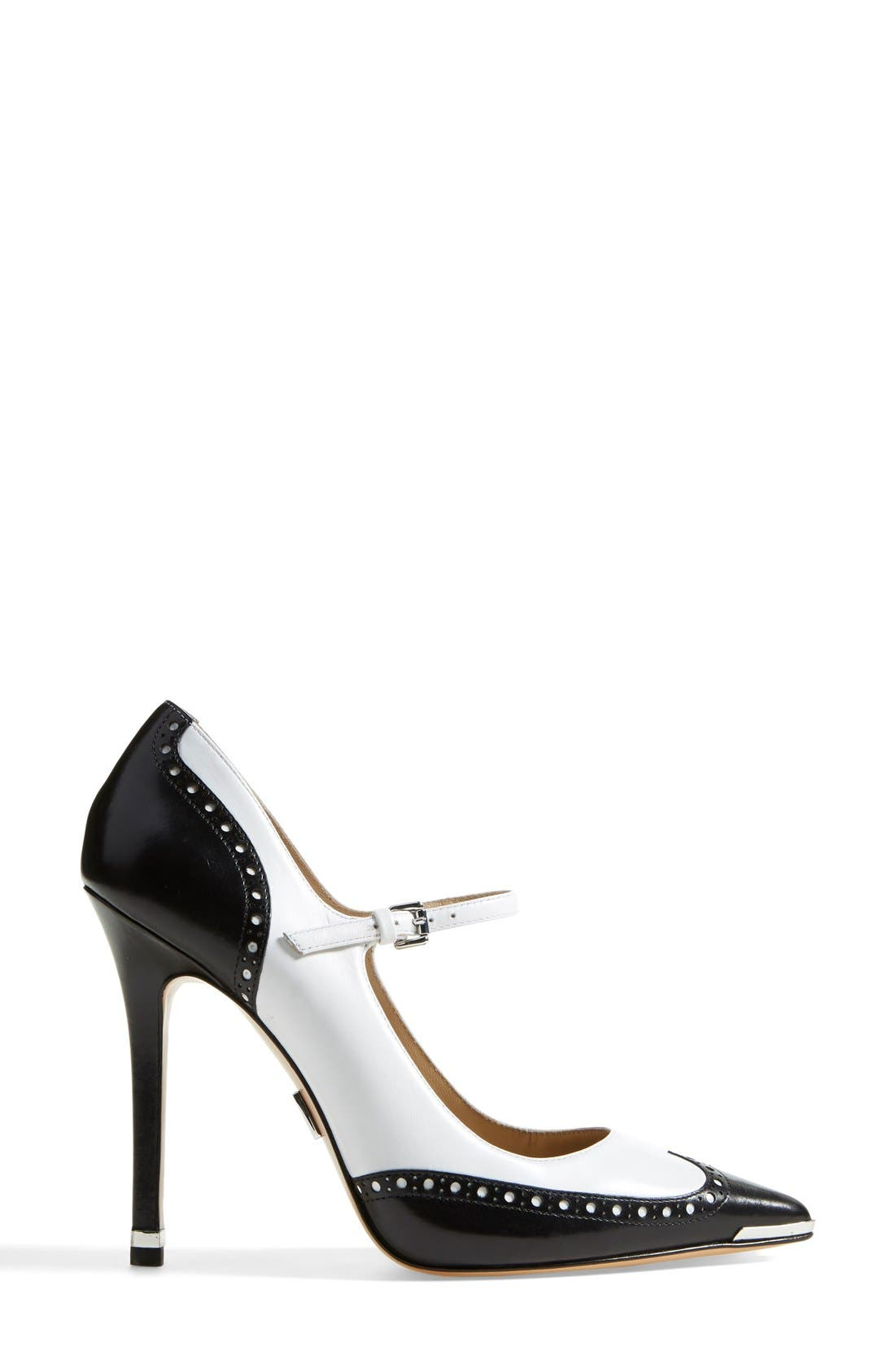 Alternate Image 4  - Michael Kors 'Angel' Wingtip Spectator Mary Jane Pump (Women)