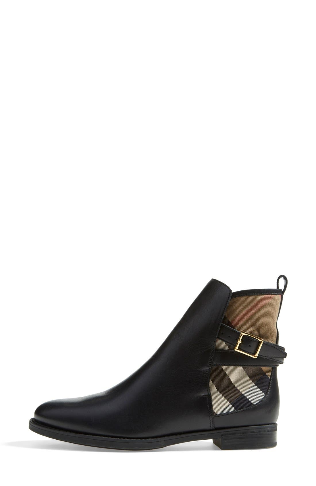 Alternate Image 4  - Burberry 'Richardson' Leather Boot (Women)