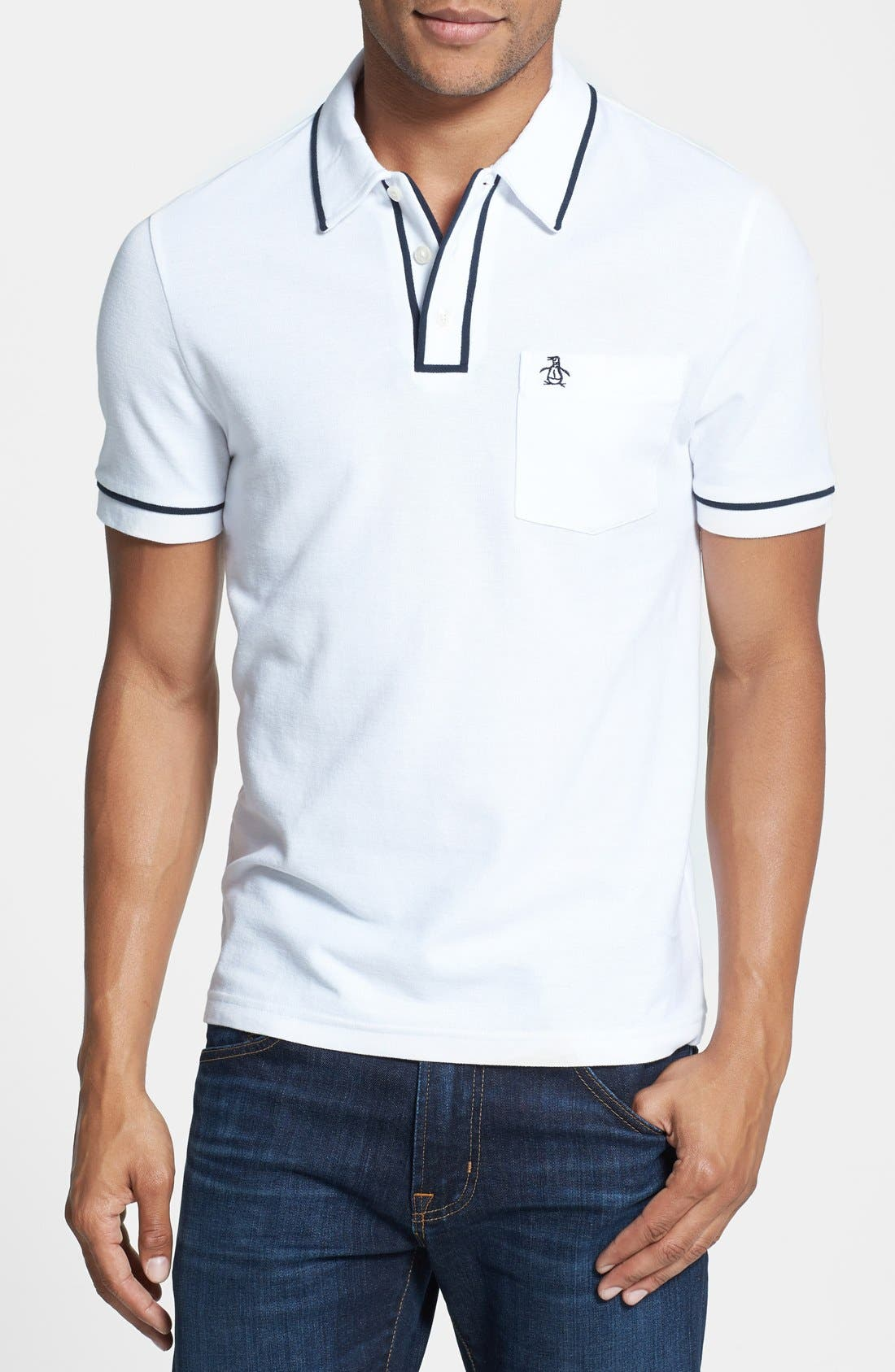 Original Penguin 'Earl' Piqué Polo