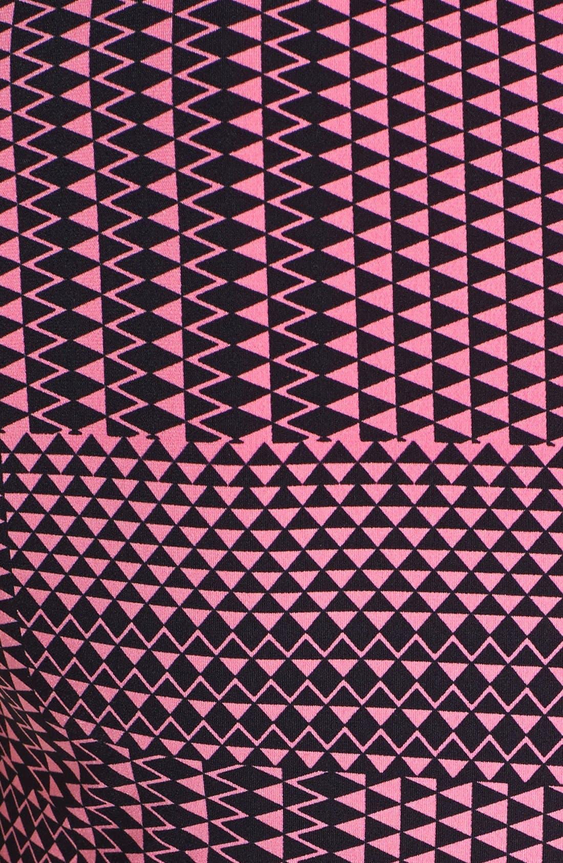 Alternate Image 3  - Chaus 'Triangle Maze' Faux Wrap Top
