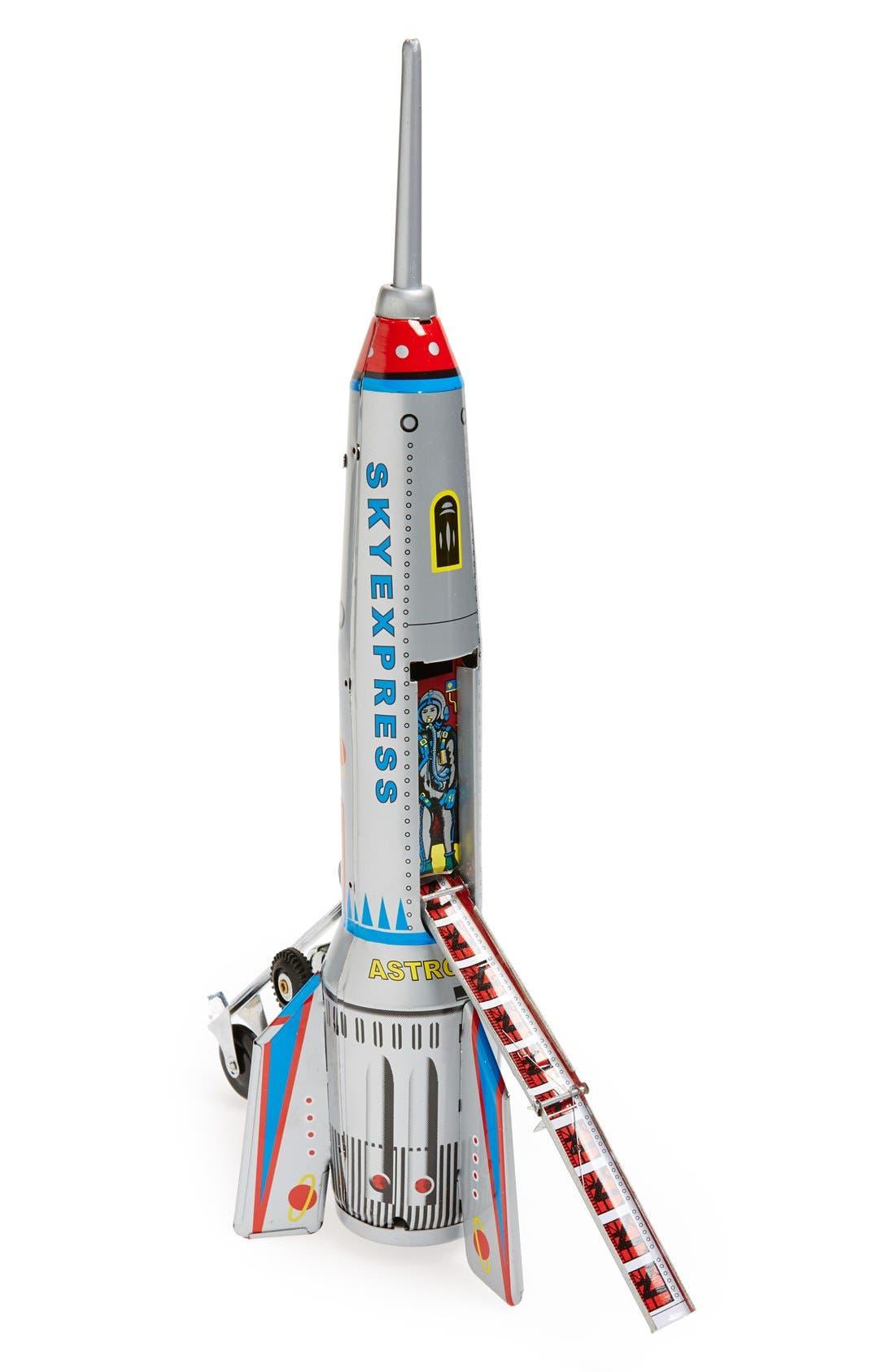 Main Image - Sunnylife 'Dr. Django's Sky Express' Collectible Tin Rocket