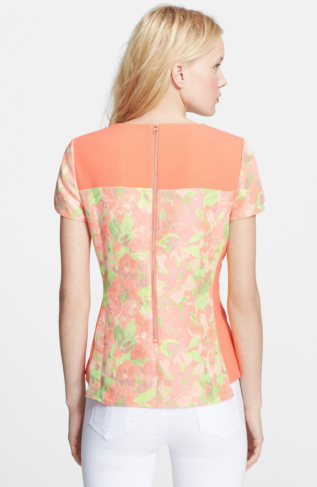 Alternate Image 2  - Ted Baker London 'Auben' Jacquard Top
