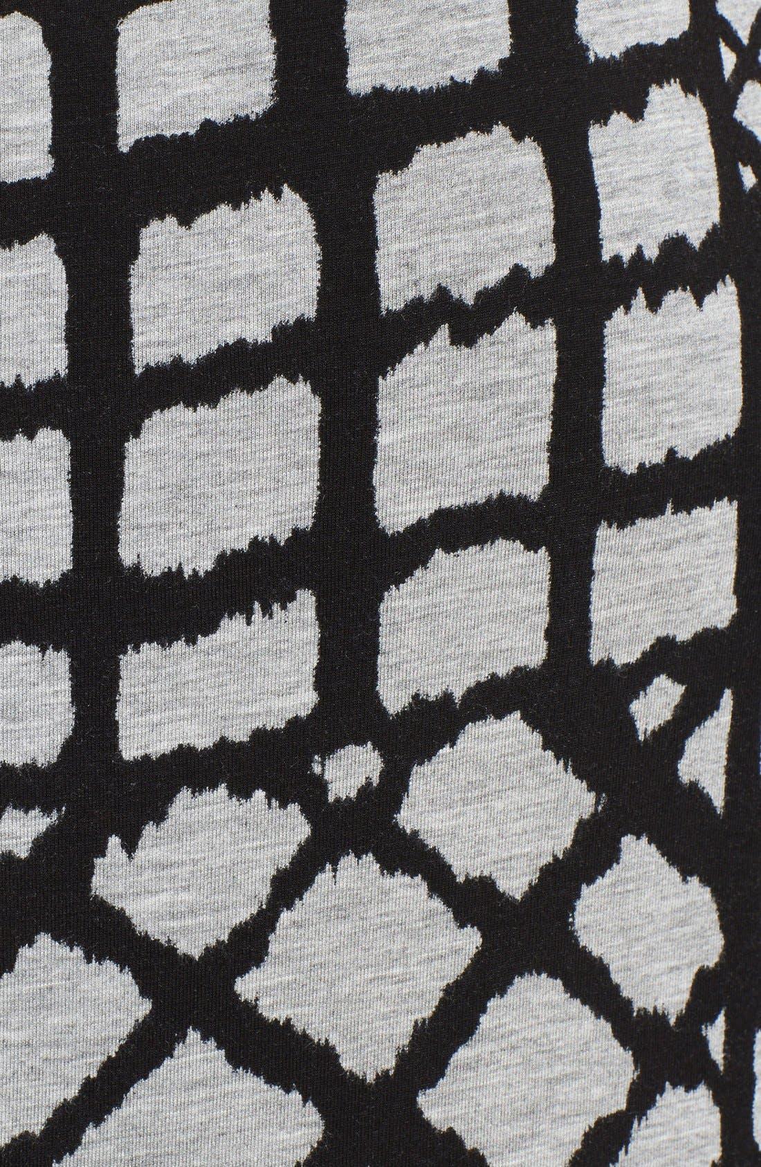Alternate Image 3  - Tracy Reese Cross Back Geometric Print Jersey Maxi Dress