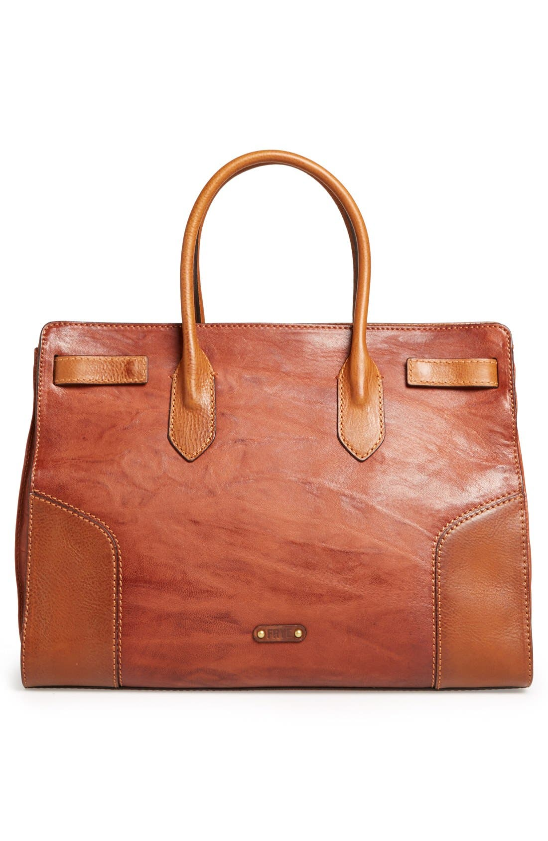 Alternate Image 4  - Frye 'Michelle' Leather Work Tote