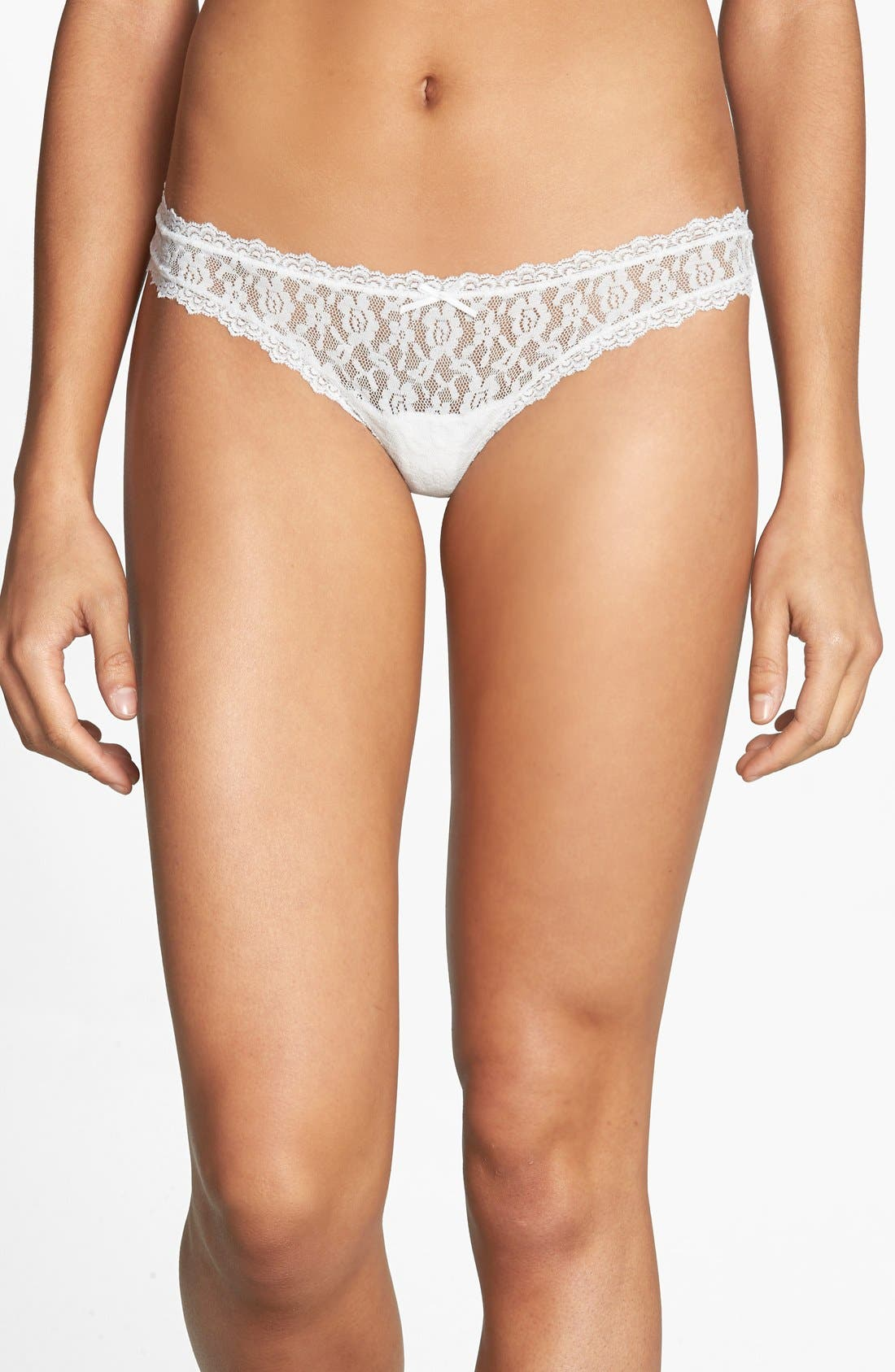 Main Image - Free People 'Dreams Do Come True' Stretch Lace Thong