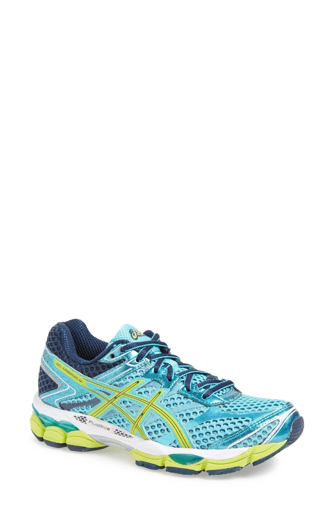 Alternate Image 1 Selected - ASICS® 'GEL-Cumulus® 16' Running Shoe (Women)