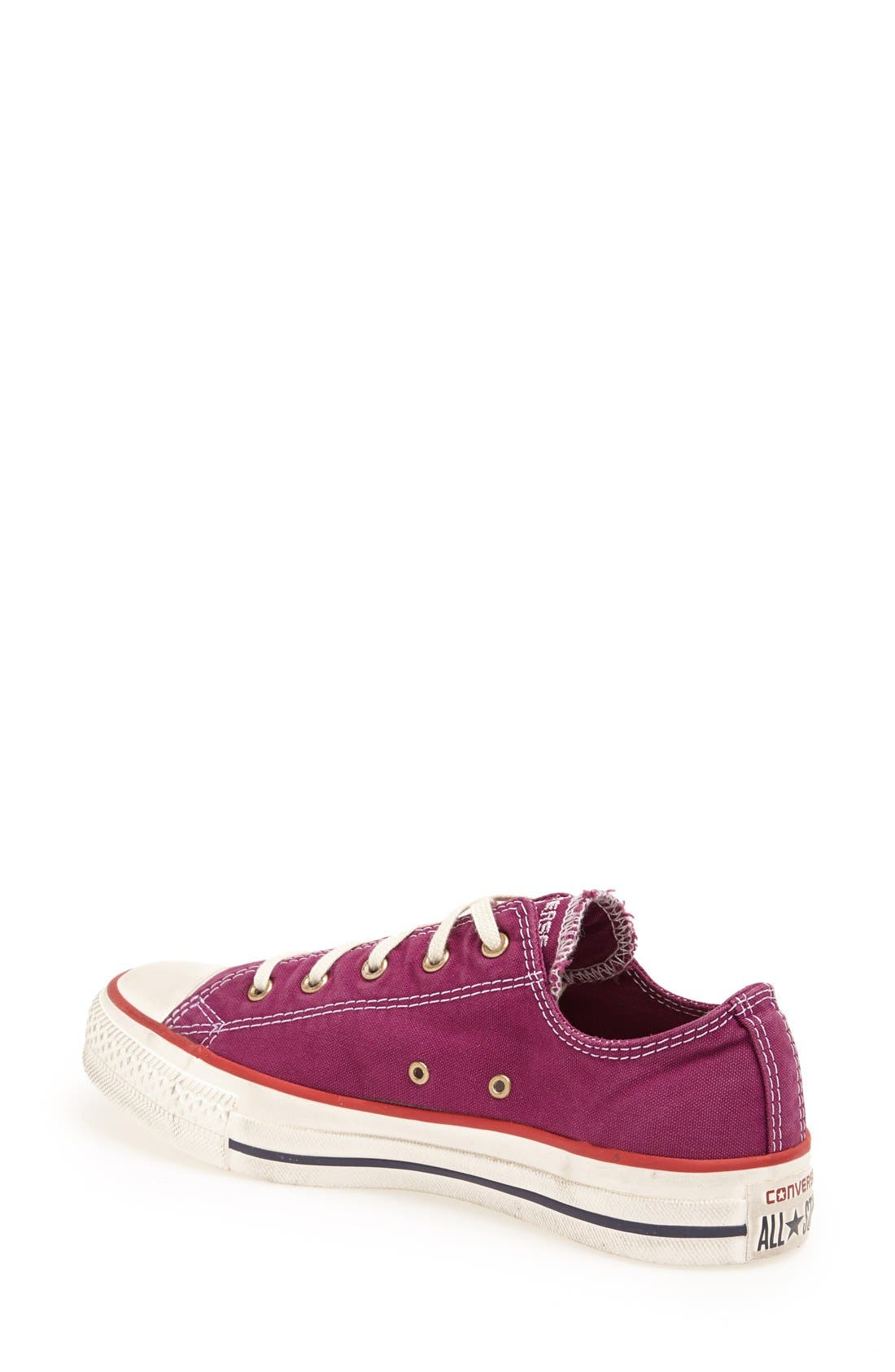 Alternate Image 2  - Converse Chuck Taylor® All Star® Washed Low Sneaker (Women)