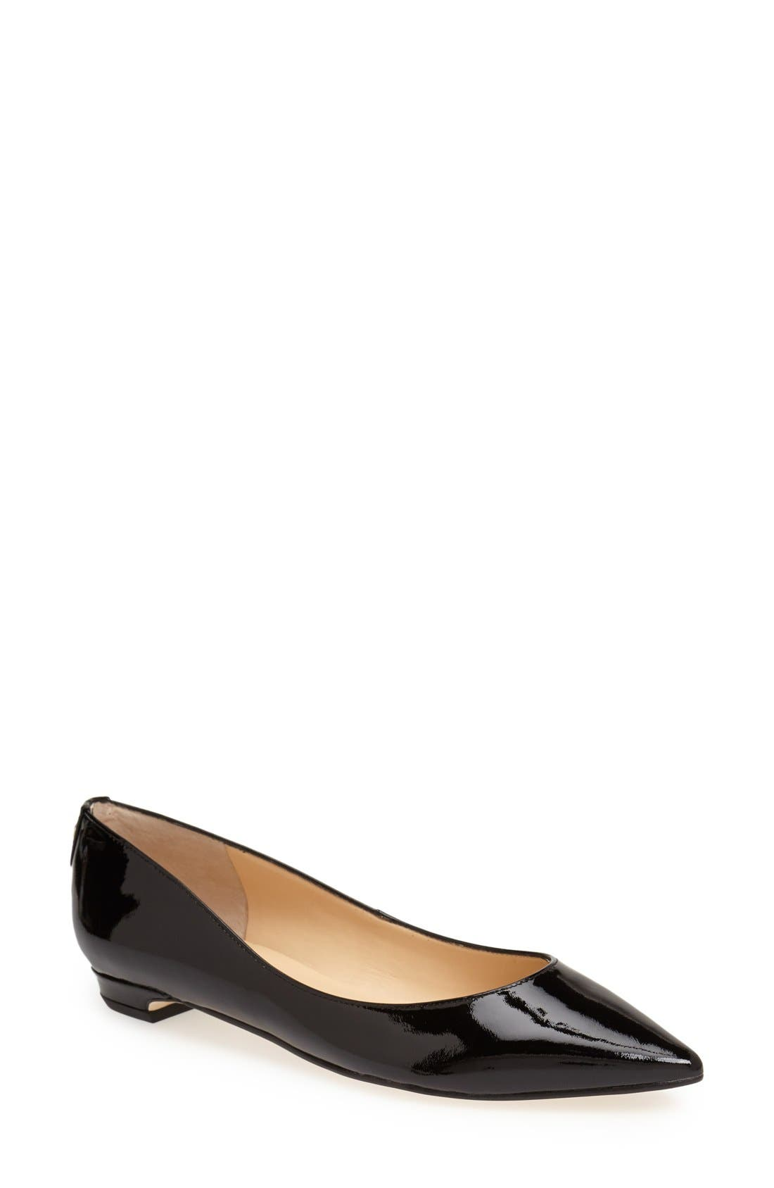 Main Image - Ivanka Trump 'Tizzy' Pointed Toe Ballet Flat (Women)