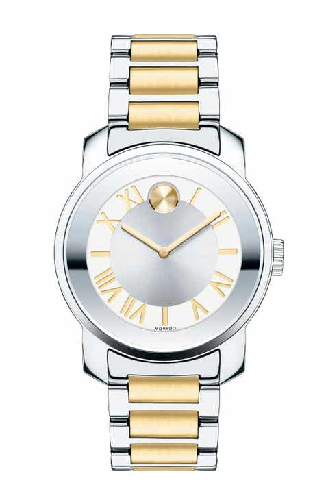 29593f564 Movado 'Bold' Two-Tone Bracelet Watch, 32mm