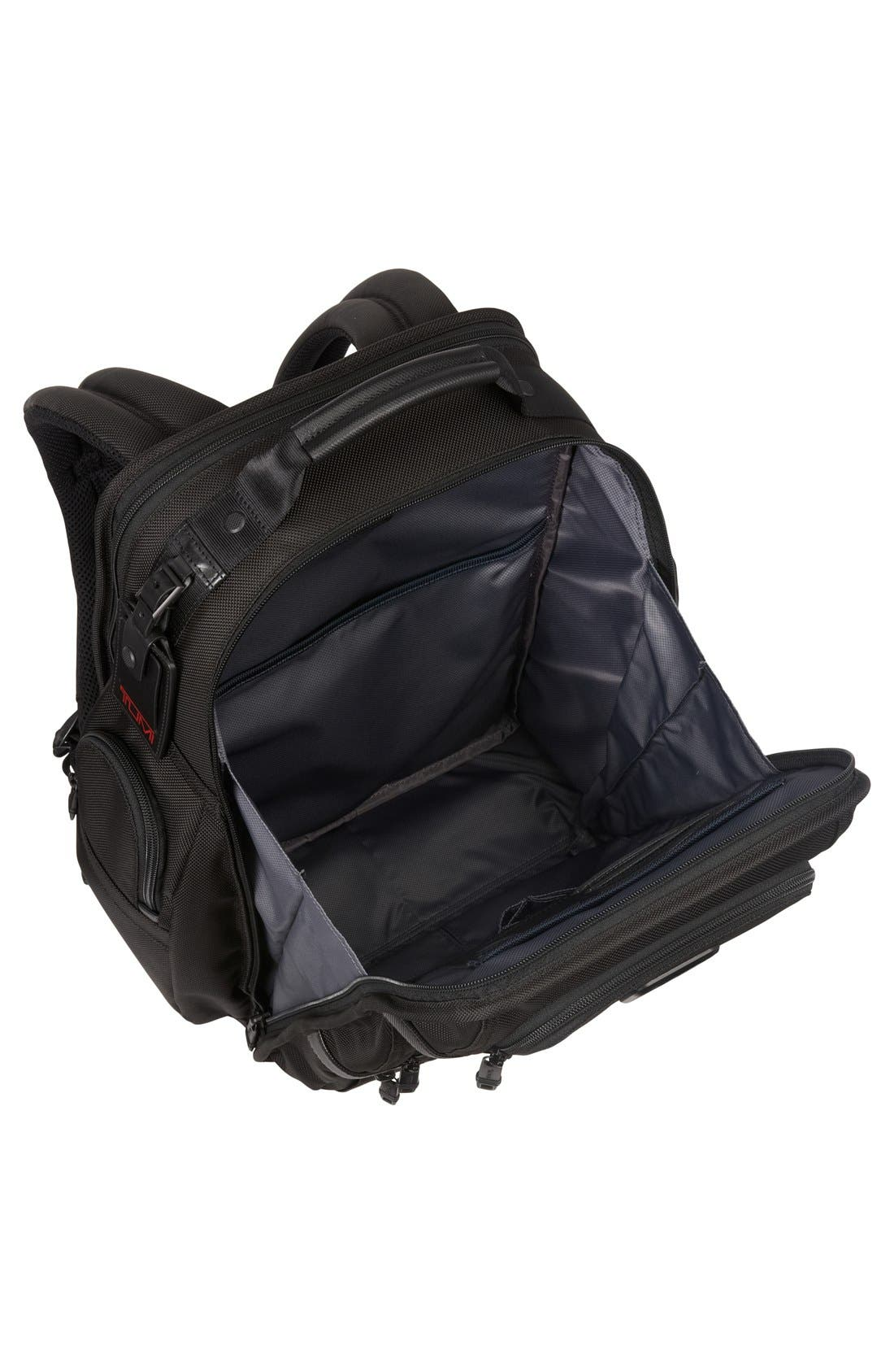 Alpha 2 T-Pass Laptop Brief Pack with Tumi ID Lock Pocket,                             Alternate thumbnail 3, color,                             Black