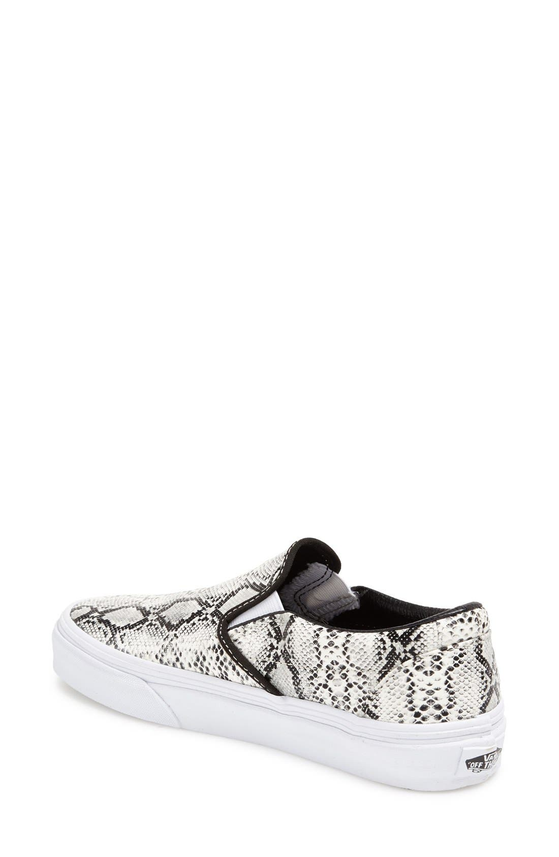 Alternate Image 2  - Vans 'Classic' Slip-On Sneaker (Women)