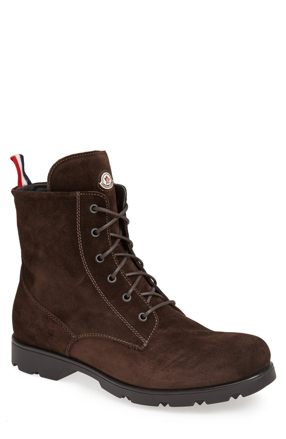 Alternate Image 1 Selected - Moncler 'Vancouver' Plain Toe Boot (Men)