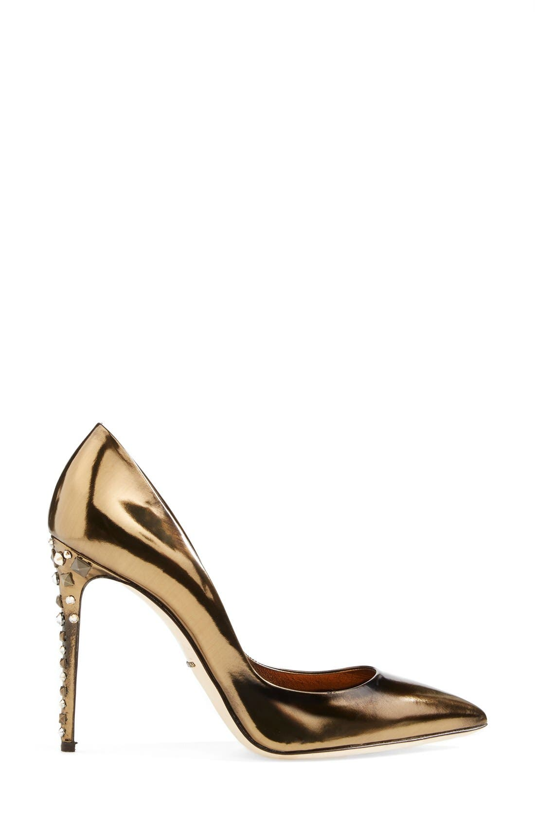Alternate Image 3  - Dolce&Gabbana Studded Heel Pump (Women)