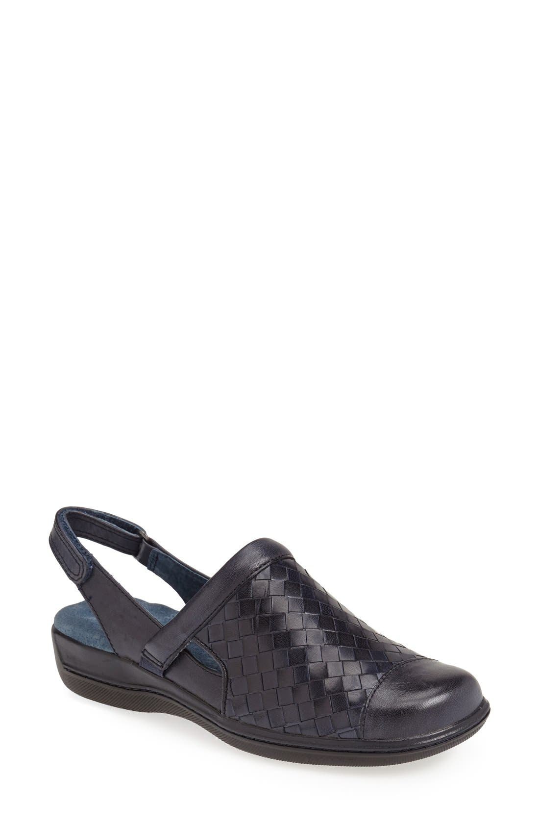 Alternate Image 1 Selected - SoftWalk® 'Salina' Woven Clog (Women)