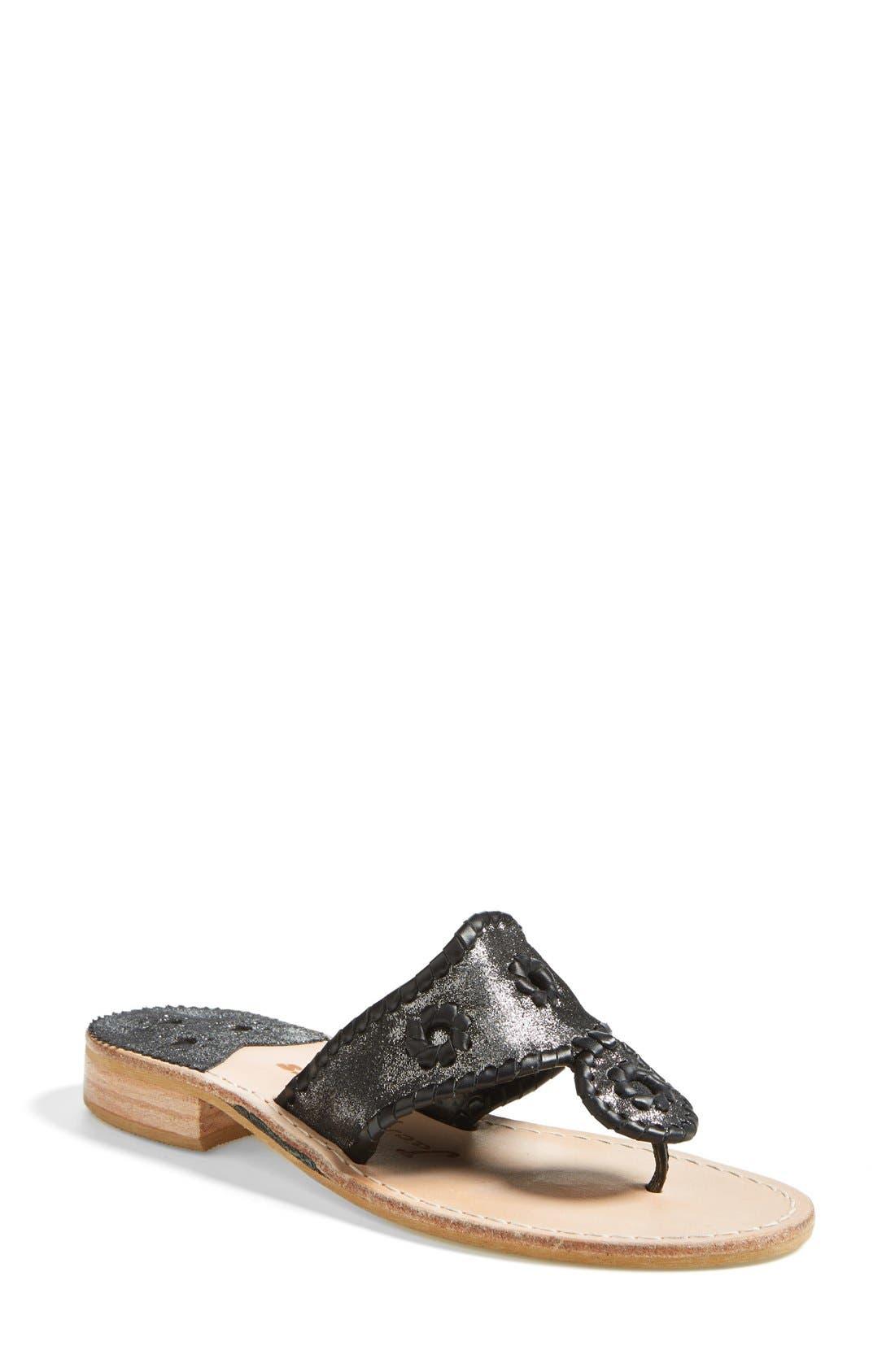Main Image - Jack Rogers 'Stardust' Thong Sandal (Women)