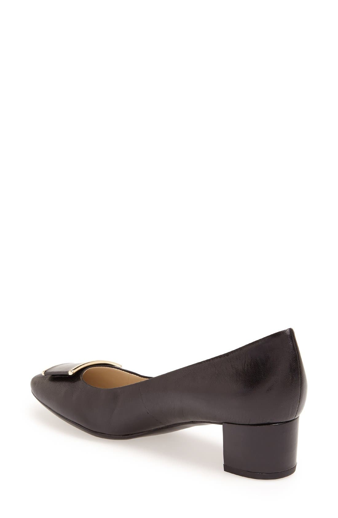 Alternate Image 2  - Naturalizer 'Faulkner' Leather Pump (Women)