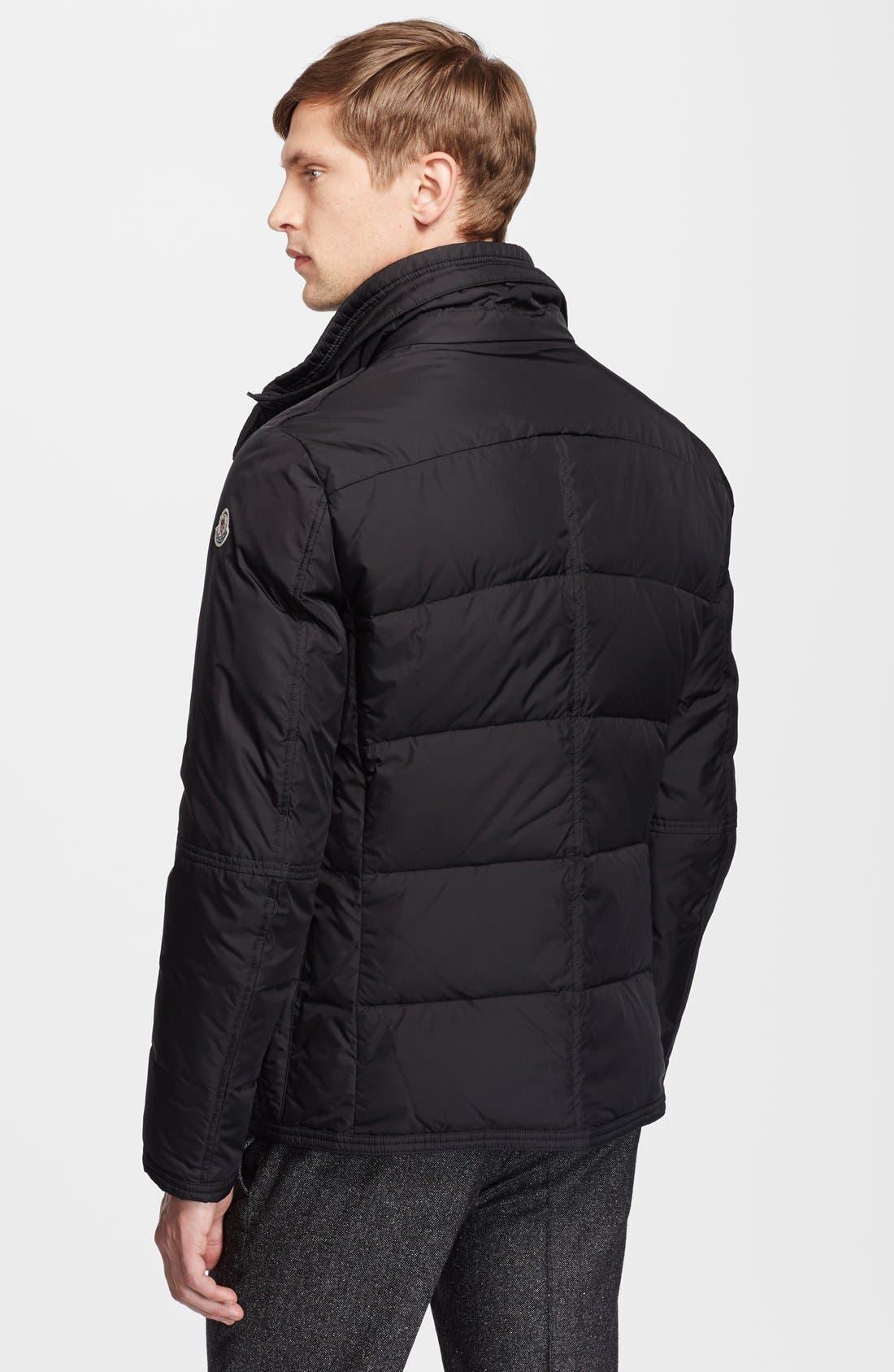 Alternate Image 2  - Moncler 'Amazzone' Matte Down Field Jacket
