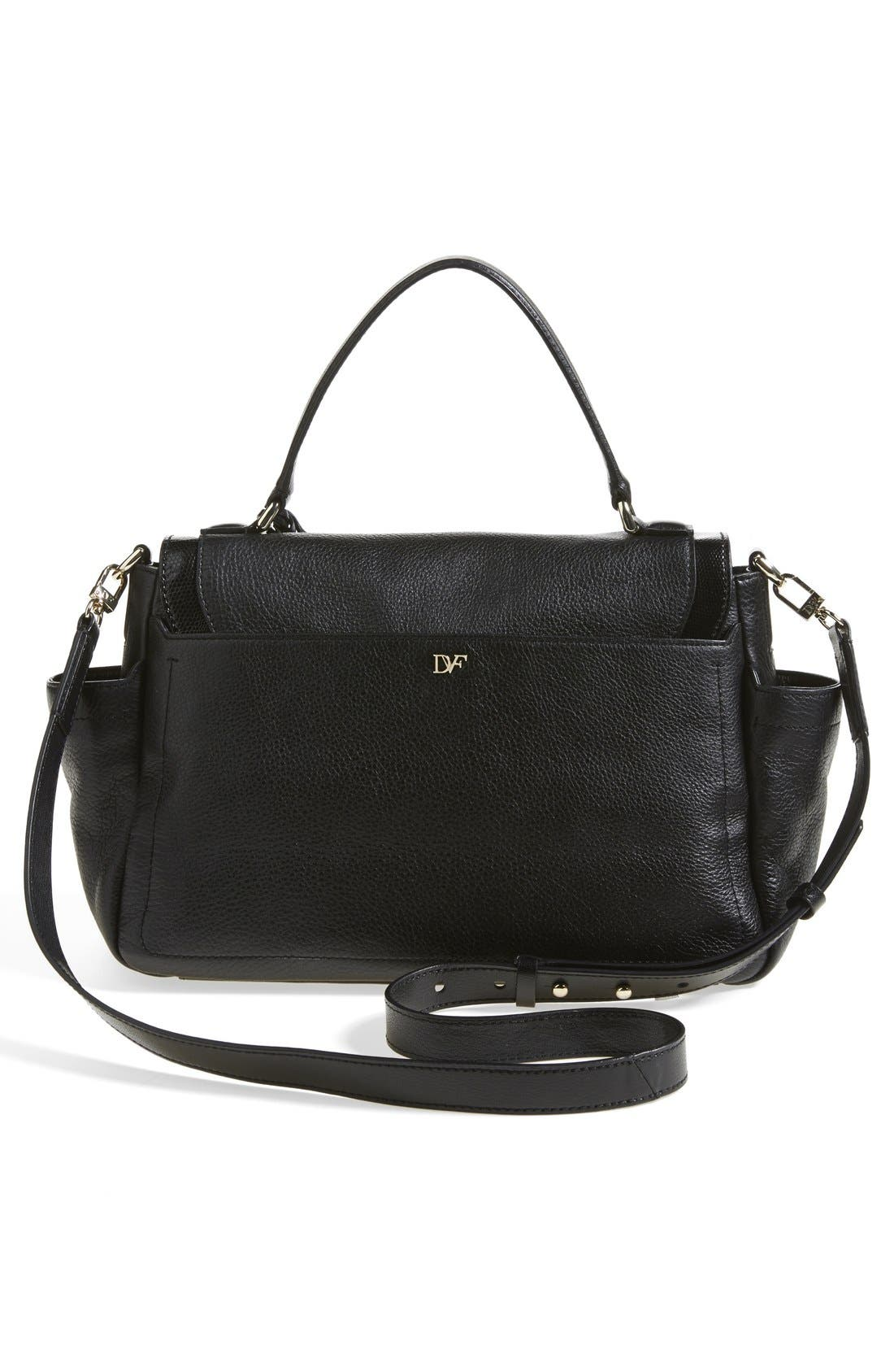 Alternate Image 4  - Diane von Furstenberg '440 Courier' Leather Satchel