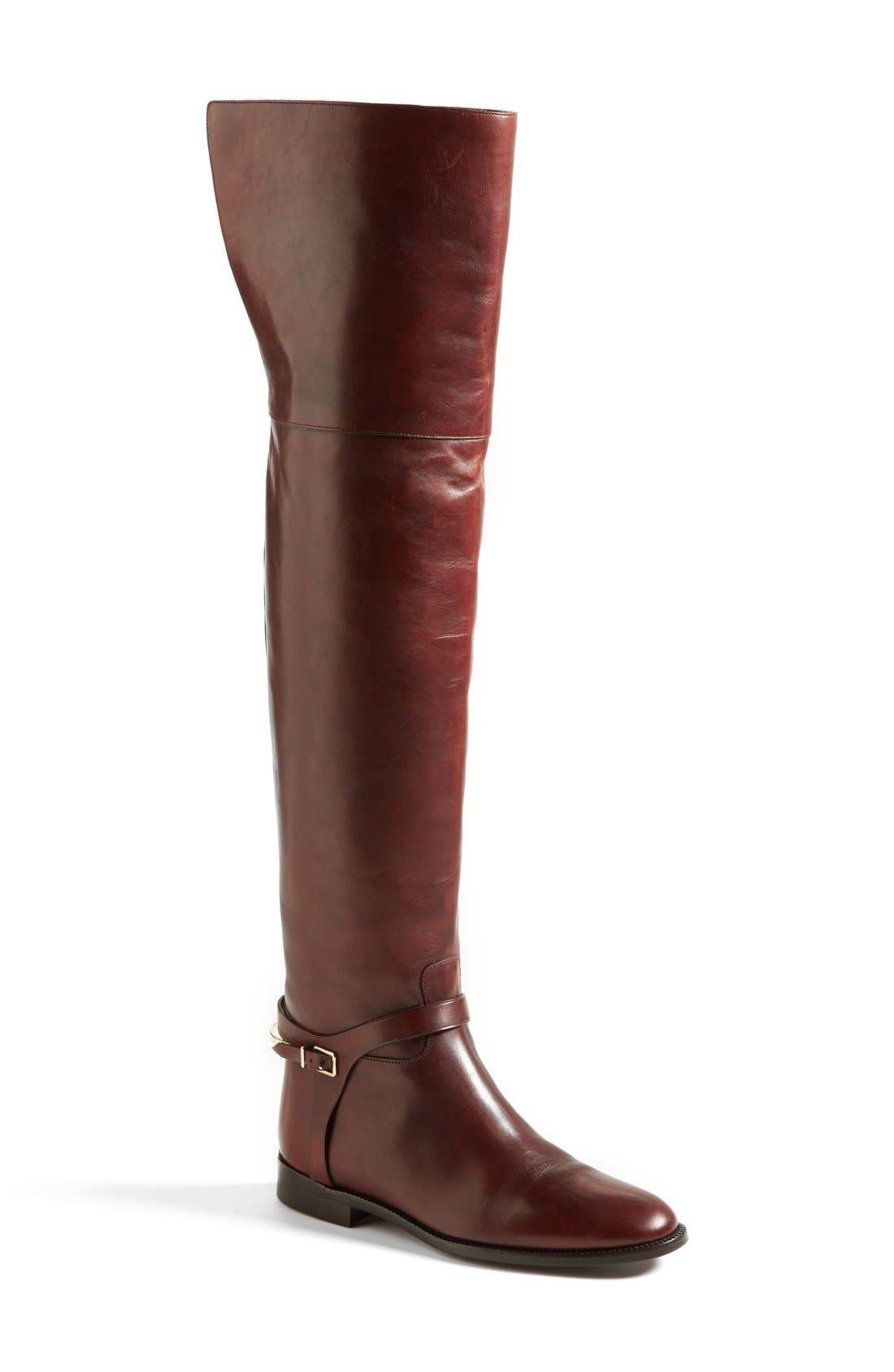 Alternate Image 1 Selected - Burberry 'Carmack' Over the Knee Boot (Women)