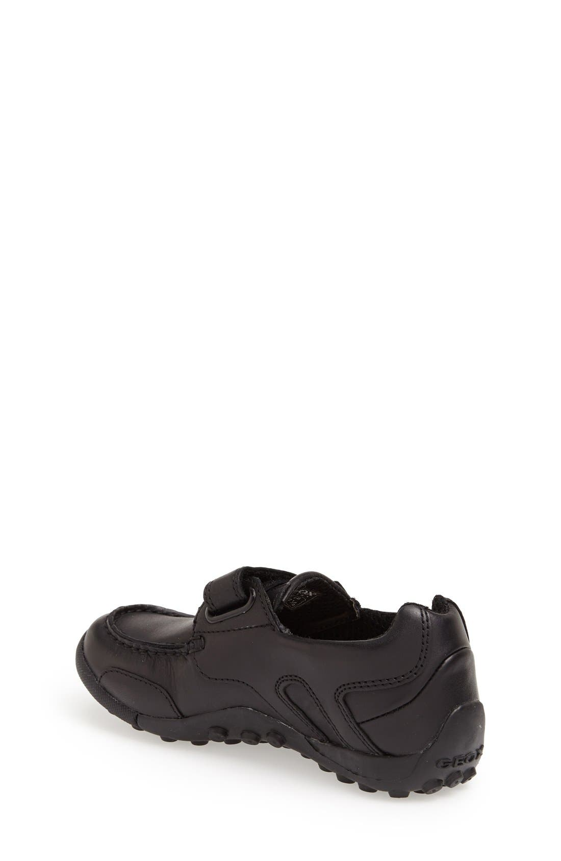 Alternate Image 2  - Geox 'Snake Moc 2' Leather Loafer (Toddler, Little Kid & Big Kid)