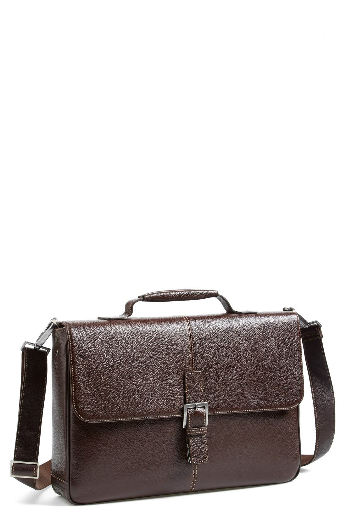 'Tyler' Briefcase,                             Main thumbnail 1, color,                             Coffee