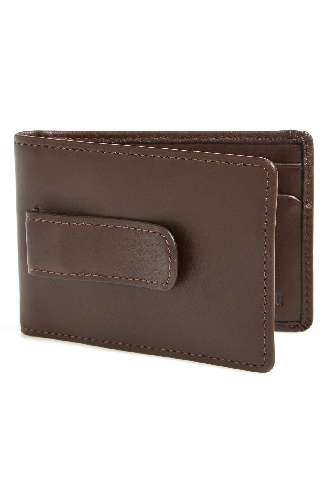 BOCONI Collins Money Clip Wallet