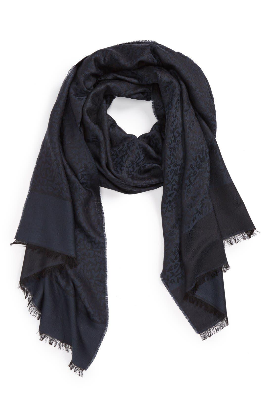 Main Image - Lanvin Wool & Silk Scarf