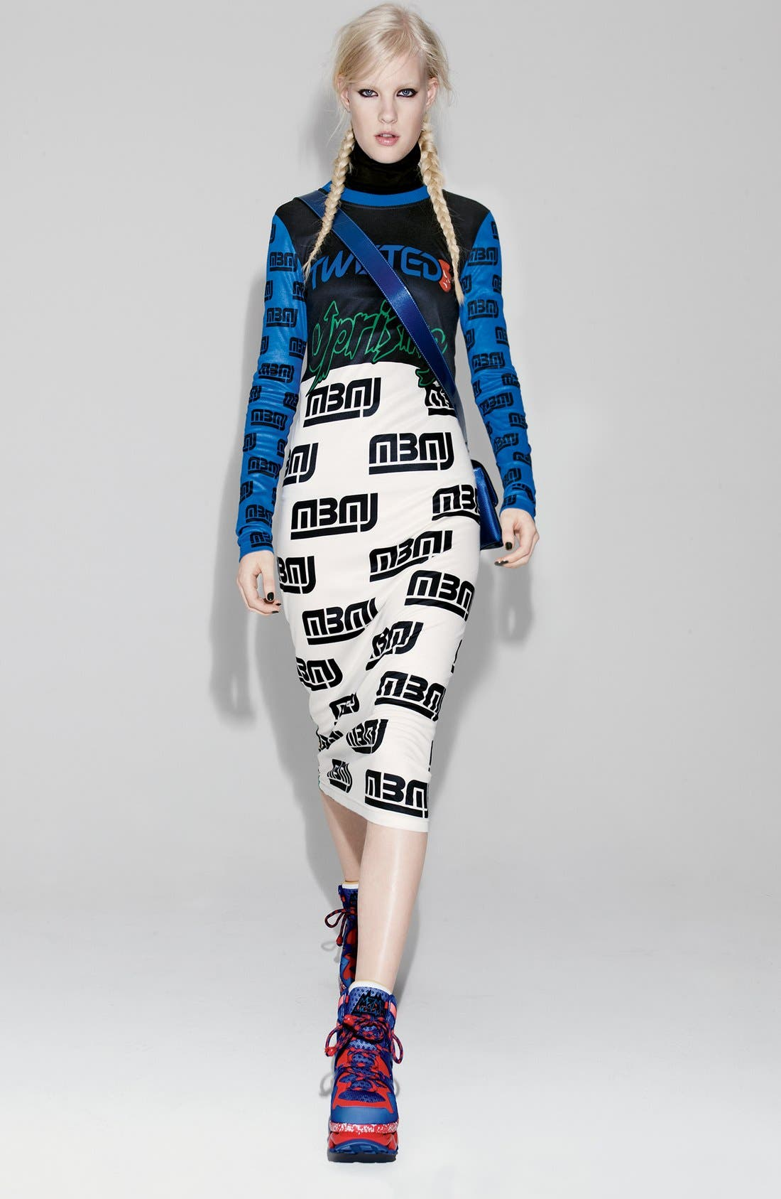 Alternate Image 5  - MARC BY MARC JACOBS Rally Motocross Uprising Dress