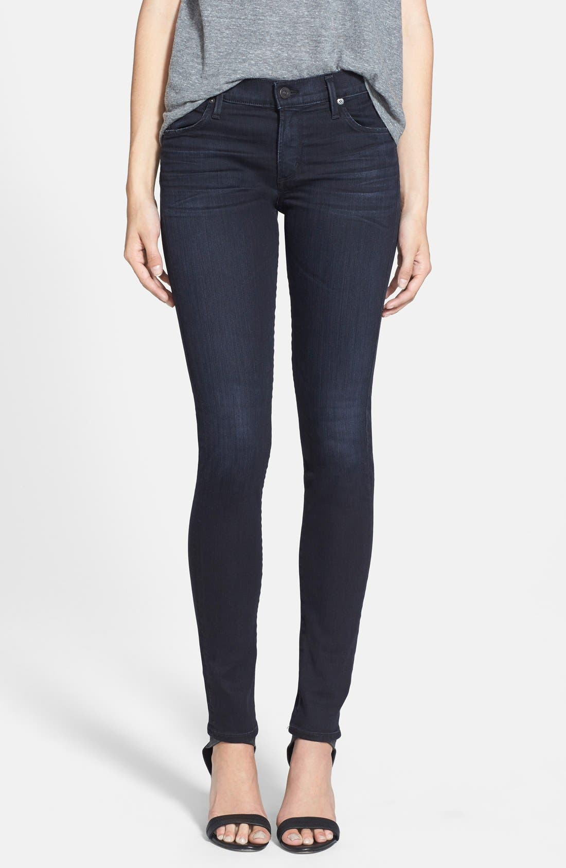 Alternate Image 1 Selected - Citizens of Humanity 'Avedon' Ultra Skinny Jeans (Carnaby)