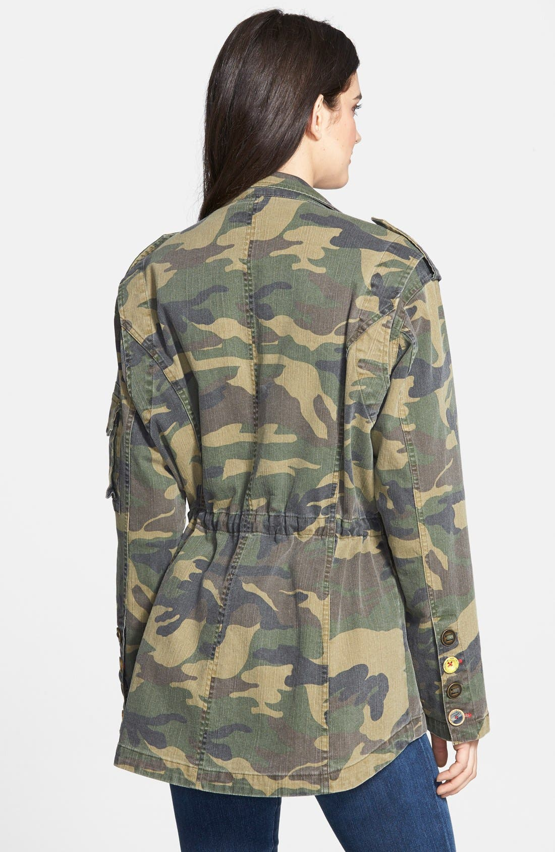 Alternate Image 2  - Sam Edelman Camo Jacket