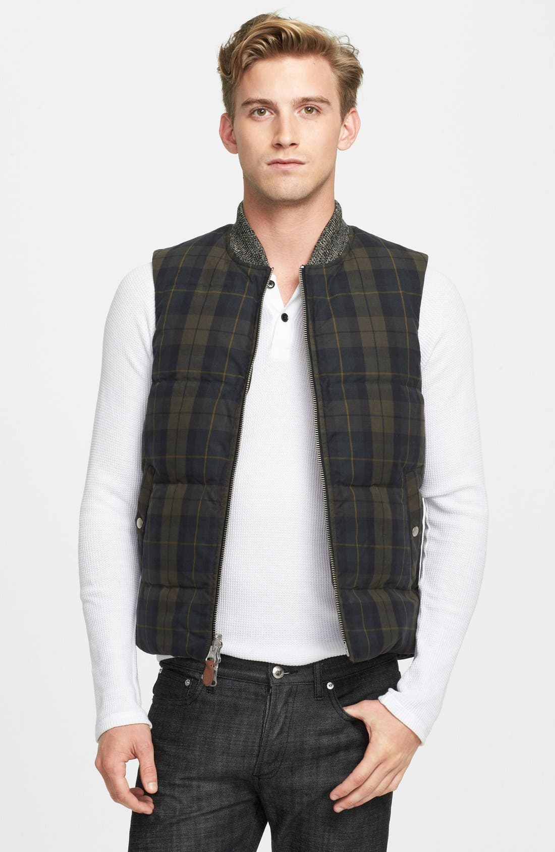 Alternate Image 1 Selected - Jack Spade 'Dalton' Reversible Down Vest