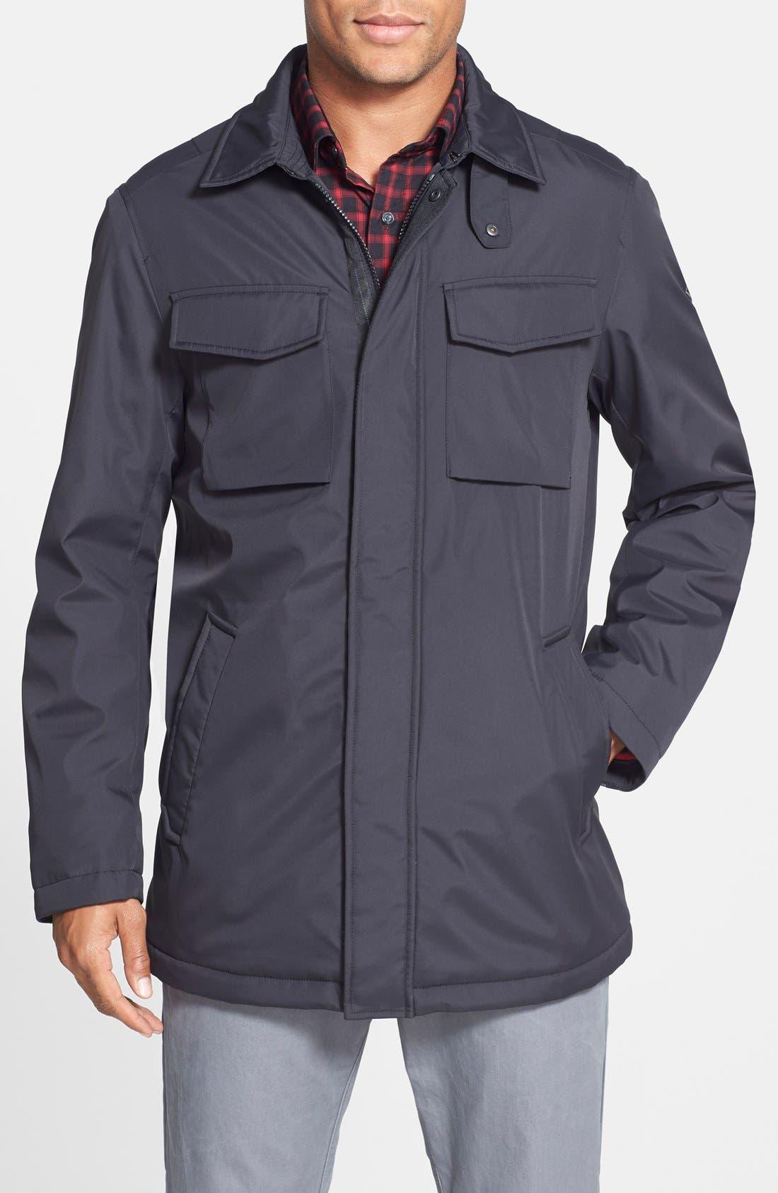 Alternate Image 1 Selected - Victorinox Swiss Army® 'Horben' Water Repellent Fleece Lined Jacket