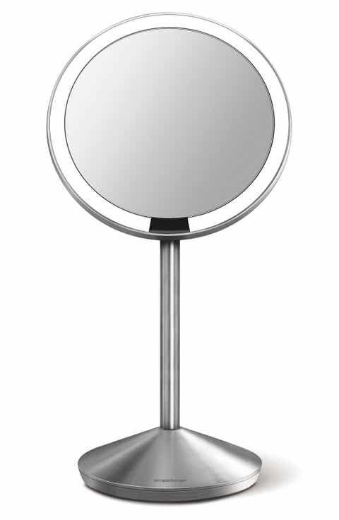 simplehuman Mini Countertop Sensor Makeup Mirror  5 Inch. simplehuman lighted makeup mirrors   Nordstrom